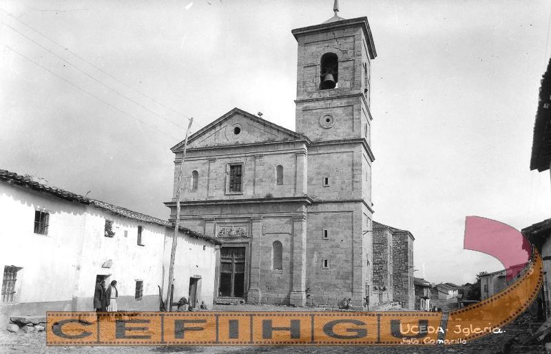 Vista de la Iglesia de Nª Señora de la Varga, por Tomás Camarillo