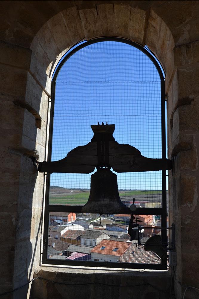Lado norte del campanario