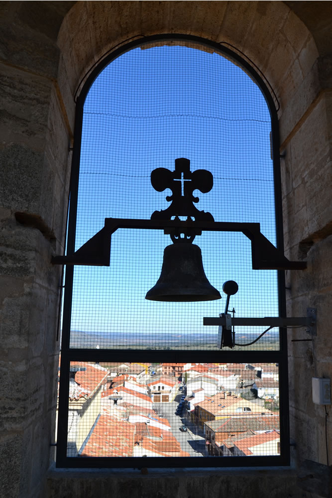 Lado este del campanario