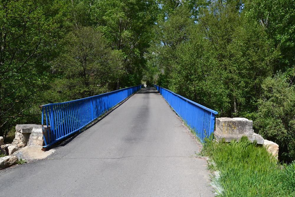 Entrada al puente desde Uceda