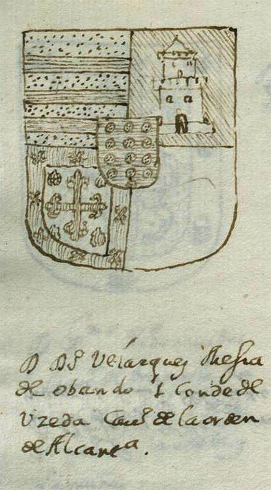 Escudo de armas de don Diego de Mesia. I Conde de Uceda