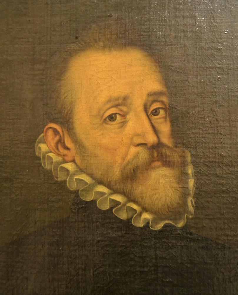 Detalle del retrato de Don Diego Mesía de Ovando