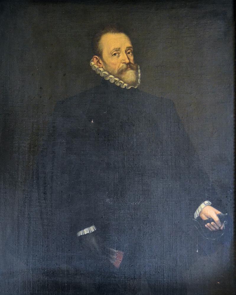 Retrato de Don Diego Mesía de Ovando. Pintado hacia el 1590.