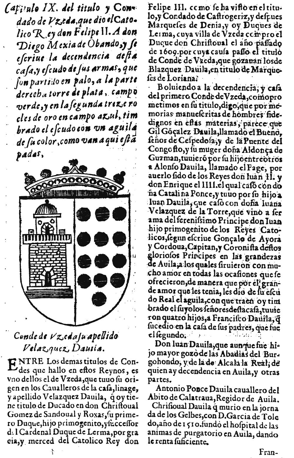 Condes de Uceda - Pagina 1