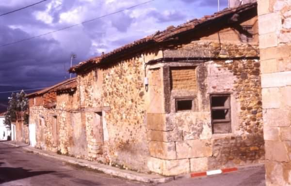 Casa de la calle Norte, hoy desaparecida.