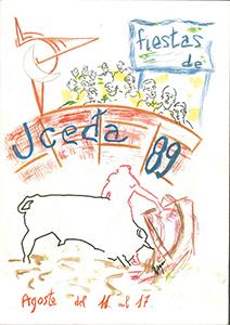 Programa de las fiestas patronales de 1989
