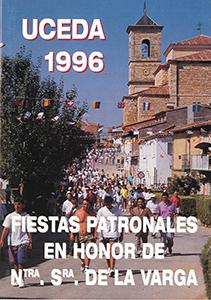 Programa de las fiestas patronales de 1996
