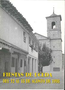 Programa de las fiestas patronales de 1998