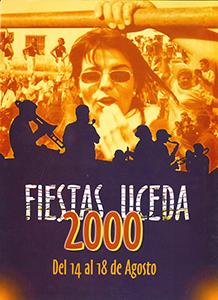 Programa de las fiestas patronales de 2000