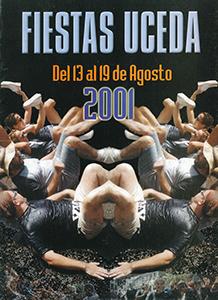 Programa de las fiestas patronales de 2001