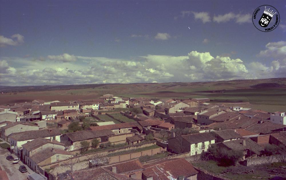 Vistas desde la torre de la iglesia - Año 1.980